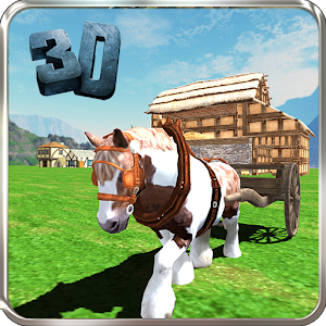 Pony Horse Cart Simulator 3D for PC and MAC
