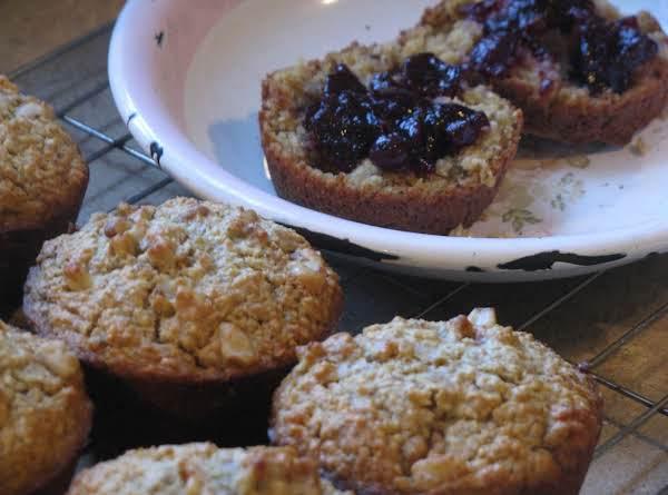Yogurt And Banana Oatmeal Muffins Recipe