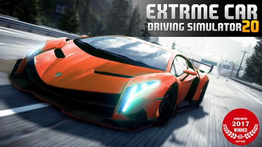 Télécharger Extreme Car Driving Simulator 20: Jeu de Voiture APK MOD (Astuce) screenshots 1