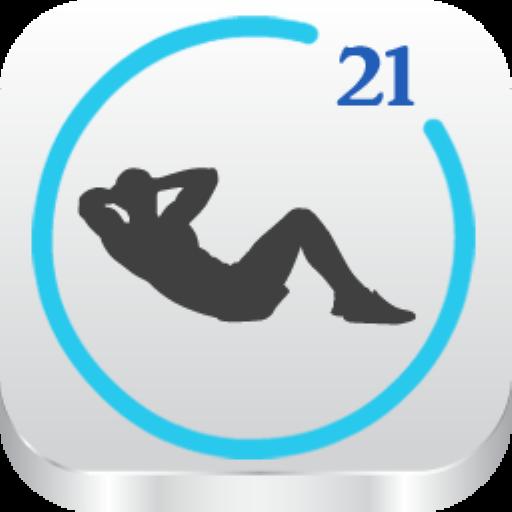 21日クランチチャレンジ 健康 App LOGO-APP試玩