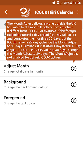 ICOUK Hijri Calendar Widgets Apk 2