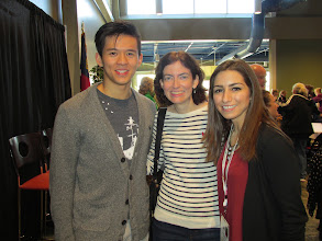 Photo: With Marissa Castelli and Mervin Tran