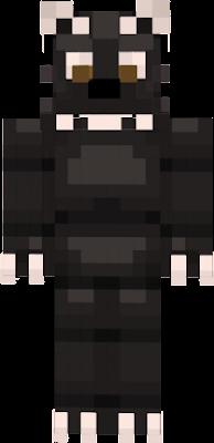 An animatronic binturong (aka Asian Bearcat)