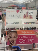 Photo: My little girl can never pass up nail polish. This display was calling her name.