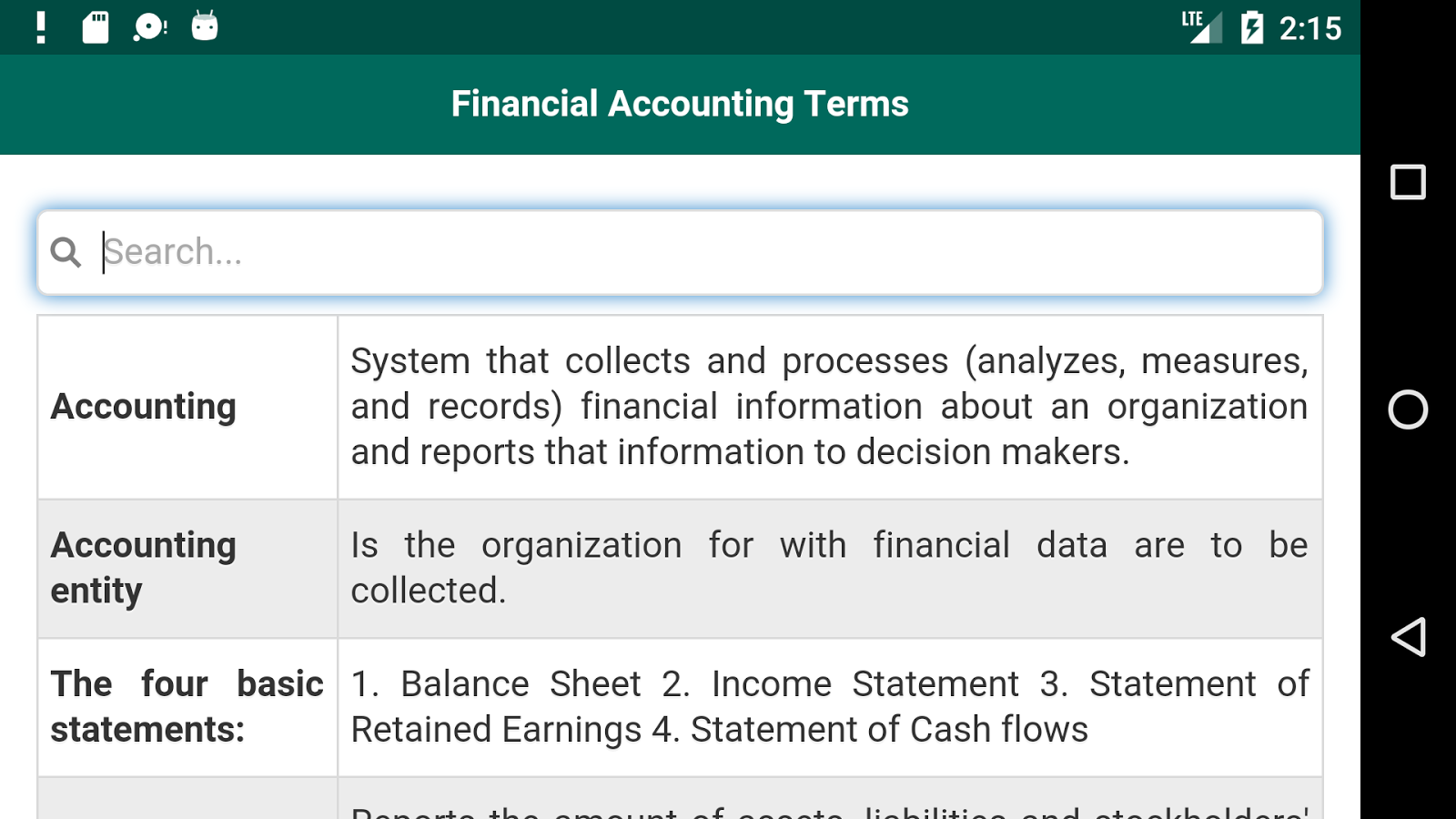 financial accounting words Your pocket guide to understanding financial terms financial literacy programme a nala/ebs partnership 2 3  this a-z pocket guide to understanding financial terms is just one of the achievements of ebs's  accounting date auditor's report a report by an independent.