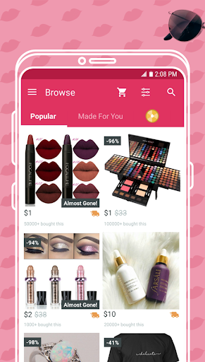 Cute - Beauty Shopping Screenshot
