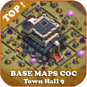 Top Base Maps COC TH 9