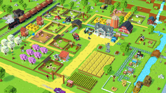 Blocky Farm MOD Apk (Unlimited Money) 8