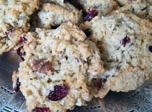Cranberry Walnut Oatmeal Cookies Recipe