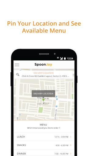 SpoonJoy - Food Ordering