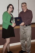 Photo: Katherine Driggs-Campbell accepting the Chair's Special Award.