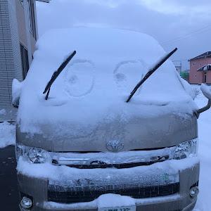 ハイエース   スーパーロング グランドキャビン4型 2.7ガソリン 4WDのカスタム事例画像 satoruさんの2018年12月07日07:38の投稿