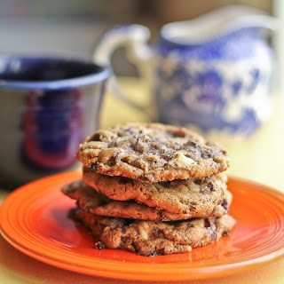 Double Chocolate Chip and Cappuccino Crunch Cookies