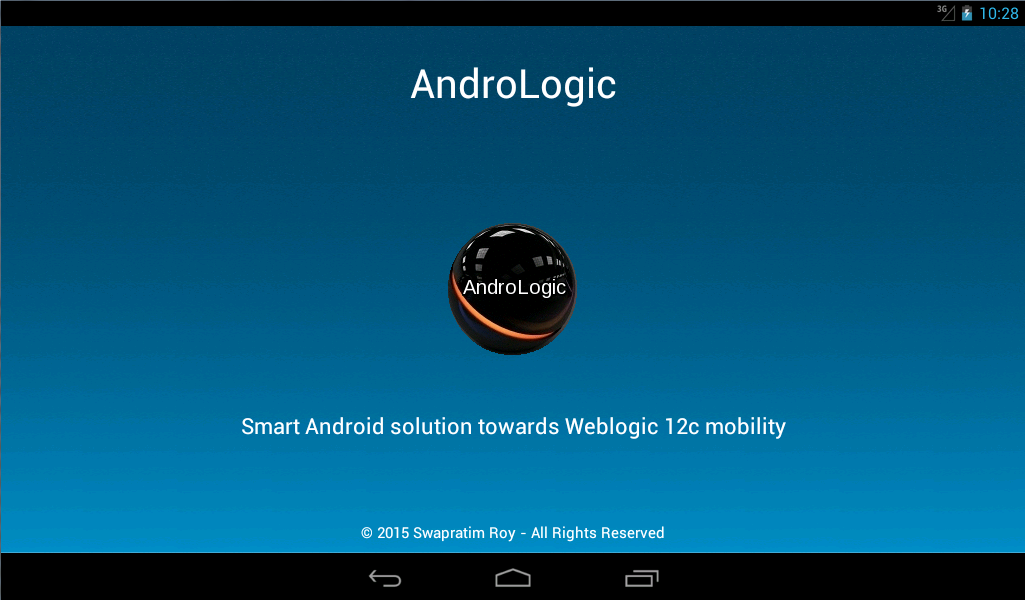 AndroLogic- screenshot