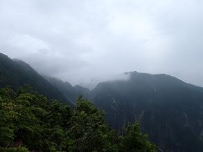 右前方に北葛岳