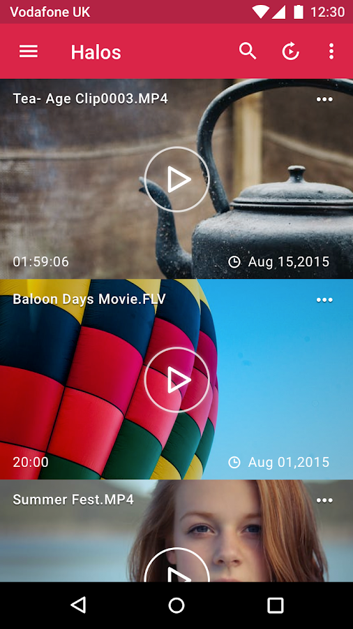 Video Player by Halos (No Ads & Donation)- screenshot