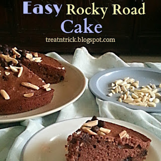 EASY  ROCKY ROAD CAKE