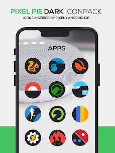 Pixel Pie DARK Icon Pack v3.8 [Patched] 5