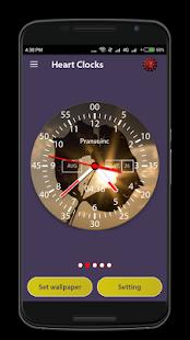 Heart Clock Live Wallpaper & Widget - náhled