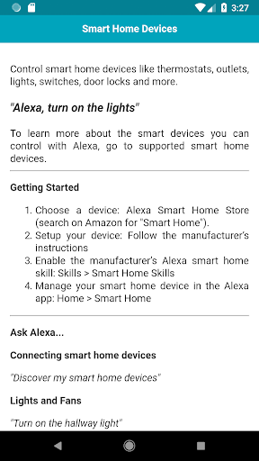 Tips & Tricks for Amazon Echo Dot 1.0.1 screenshots 5