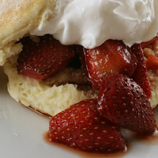 Balsamic Strawberry Shortcake Recipe