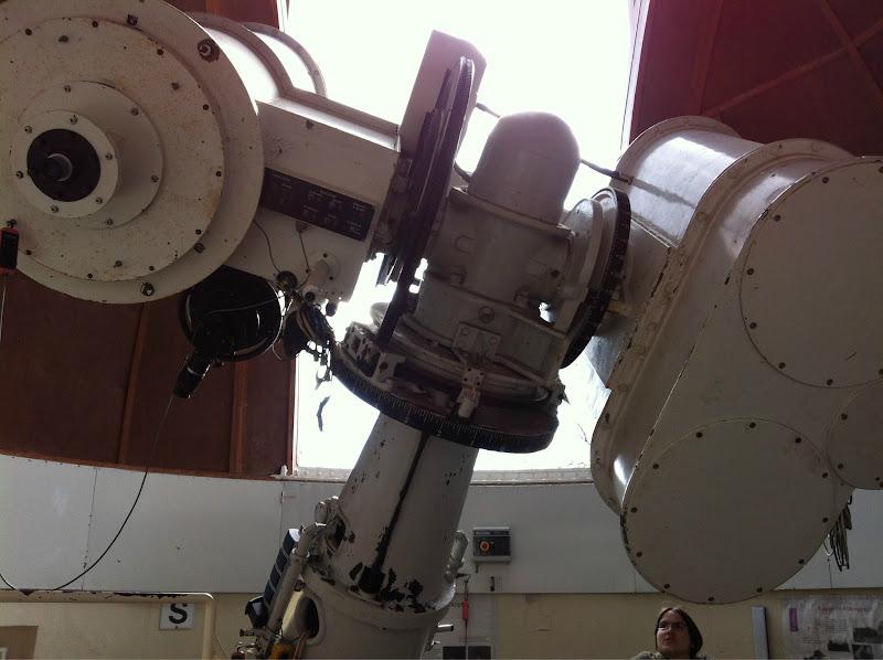 Photo: Mit dem Lippert-Teleskop konnte ich Sonnenflecken beobachten.