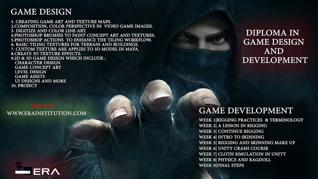 Game Development course in chandigarh(Unity,C#) - Game