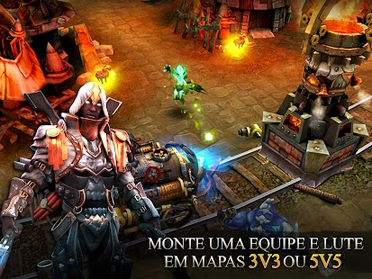 Heroes of Order & Chaos Screenshot