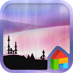 Aurora LINE Launcher Theme Icon