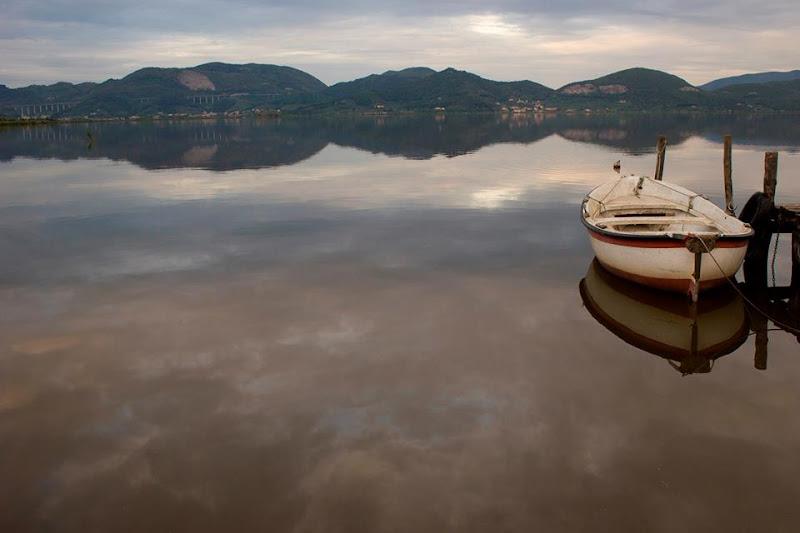 SUl lago  specchiato di Odo