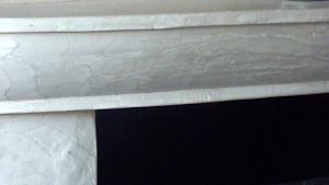 cheminée béton ciré par Les Bétons de Clara
