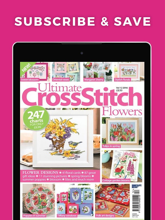 Ultimate Cross Stitch Magazine - Stitching Pattern  poster 7