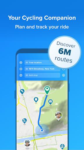 Bikemap - Your Cycling Map & GPS Navigation 11.13.0 Screenshots 1