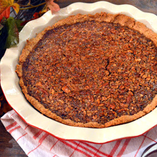 Paleo Apple Butter Pecan Pie