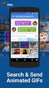 Emoji Keyboard Pro Kika + GIFs apk screenshot