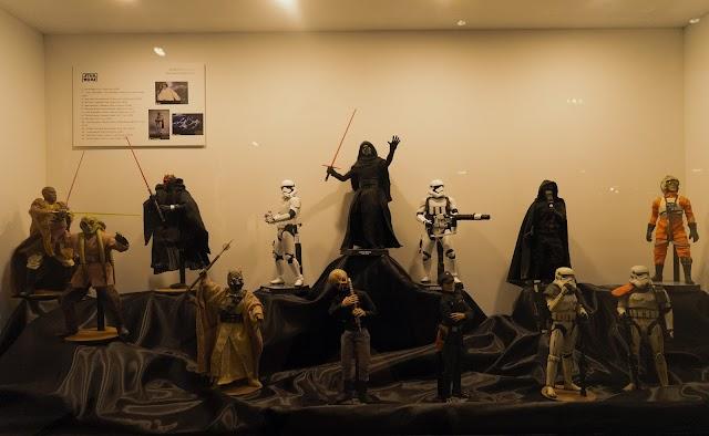 Algunas de las figuras que pueden verse en el Museo de Almería.