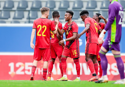 """Les U21 belges, plus forts qu'il y a deux ans? """"Enormément de qualités!"""""""