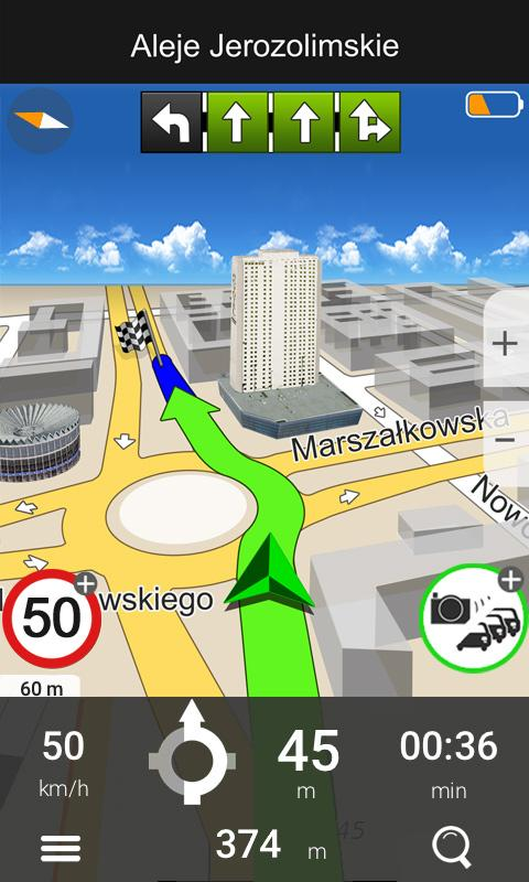 Navigation MapaMap Poland- screenshot