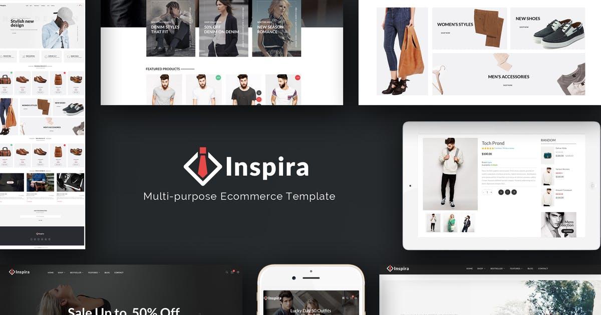 Inspira - Multipurpose Responsive Prestashop Theme Free Download
