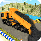 Road Construction Crane Sim