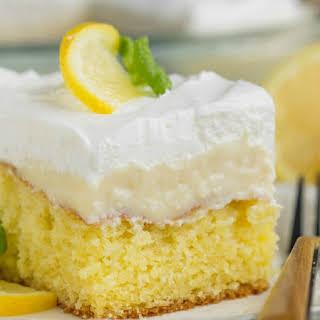 Lemon Icebox Cake.