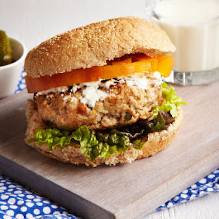 Lemon Thyme Chicken Burgers