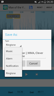 Mp3 Cutter and Ringtone Maker screenshot 3