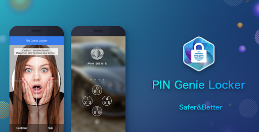 PIN Genie Locker-Screen Lock & Applock screenshot 1