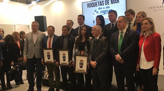 India Martínez, una de las premiadas por el Ayuntamiento de Roquetas