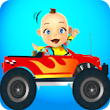 Baby Monster Truck Game – Cars by Kaufcom icon