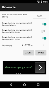 Lotto Stat Generator - náhled