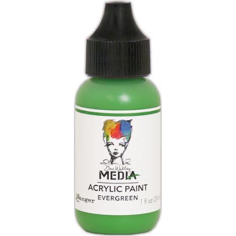Dina Wakley Acrylic Paint 29ml - Evergreen