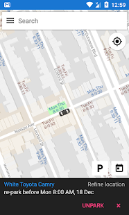 Free Park NYC - find street parking near you - náhled