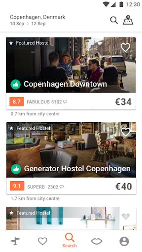Hostelworld: Hostels & Backpacking Travel App 7.5.0 screenshots 2